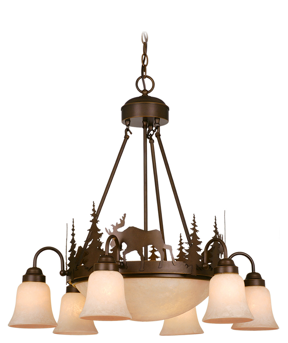 Vaxcel Lighitng (CH55606) Yellowstone 9 Light Chandelier