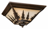 "Vaxcel Lighitng (CC55514) Yosemite 14"" Flush Mount"