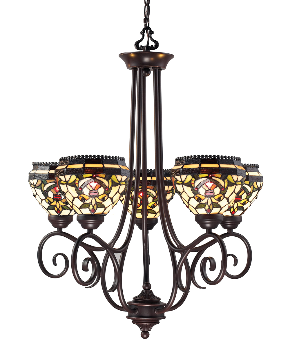 Foyer Lighting Tiffany Style : Z lite lighting templeton light chandelier