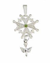 Huguenot Cross with YOUR Birthstone!