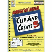 American Sign Language Clip and Create 5 CD-ROM