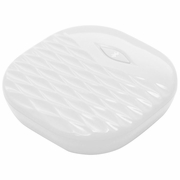 Amplifyze TCL Pulse White Bluetooth Vibrating Bed Shaker and Sound Alarm for Amplicom