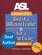 ASL Literature Series: Bird of a Different Feather Book & DVD (Teacher Set)