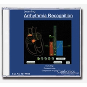 Cardionics Learning Arrhythmia Recognition CD-ROM