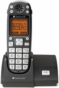 ClearSounds A300 Amplified Cordless Telephone w/ Speakerphone & Answering Machine