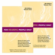 For Hearing People Only 4th Edition