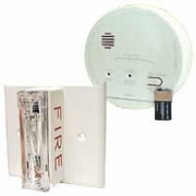 Gentex GN-503F Hard Wired T3 Smoke/T4 Carbon Monoxide Photoelectric Alarm with Ceiling Strobe