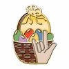 ILY Easter Basket Pin