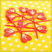 ILY Red Party Picks Economy Package 48 Count