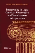 Interpreting in Legal Contexts