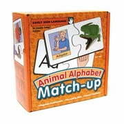 Match-Up Puzzles: Animal Alphabet