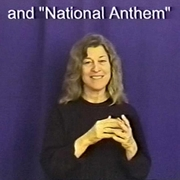 Patriotic Signs in ASL and Signed English