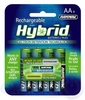 Rayovac Hybrid Rechargeable Batteries