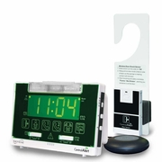 Serene Innovations CentralAlert CA-360H Clock/Receiver Notification System with Door Sensor