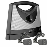 Serene Innovations TV SoundBox Wireless TV Speaker with Two A/C Adapters