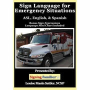 Sign Language for Emergency Situations: ASL  English & Spanish