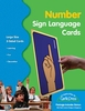 Sign Language Number Cards