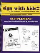 Sign With Kids!! Supplement