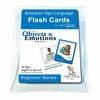 Sign2Me ASL Flash Cards: Objects & Emotions