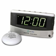 Sonic Boom AM/FM Radio Alarm Clock