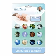 Sound Oasis Sleep Relaxation Wellness Sound Card for S-650/S-660/S-665 Sound Therapy Systems