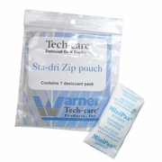 Tech-Care Sta-dri Zip Pouch