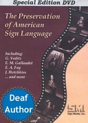 The Preservation of American Sign Language DVD