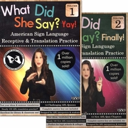 What Did She Say? Vol 1 Yay! and Vol 2 Finally! 2-DVD Set