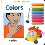 Young Signers: Colors Board Book