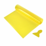 12 x 48 Yellow Tint Vinyl Sheet