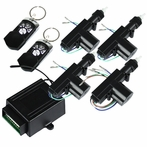 2/4-Door Key-less Lock/Unlock Entry Kit with 4 Function Remote
