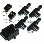 2/4-Door Key-less Lock/Unlock Entry Kit with Remote
