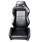 2 X Pvc Leather JDM Racing Seats