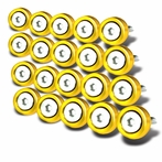 20PC Golded Aluminum Washer/Bolt Dress Up Kit