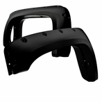 4PC Black Fender Flares Protector