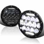7-Inch Round LED DRL Sealed Beam Headlight