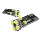 8 SMD T10 Canbus LED Bulb 2 PCS - White