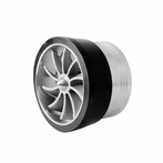 Air Intake Single Side Turbo Fan (Black)