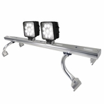 Aluminum Universal Square Work Fog Lamps with Light Bar