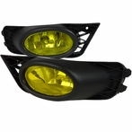 Amber OEM Style Fog Lights with Relay & Switch
