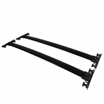 Black Aluminum Roof Rack Bar
