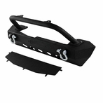 Black Front Bumper Rock Guard