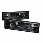 Black Bumper Signal Lights