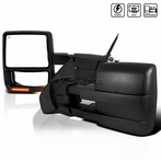 Black Extending Towing Mirror (Heat + Power)