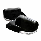 Black GT Style Side Mirrors (Power)