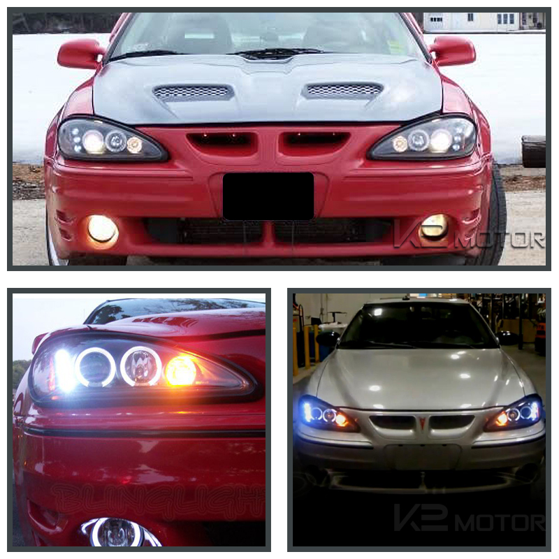 Black Halo Led Projector Headlights Inset 7