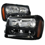 Black Headlights With Amber Reflectors
