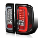Black LED Bar Tail Lights