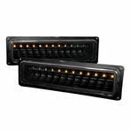 Black LED Bumper Signal Lights
