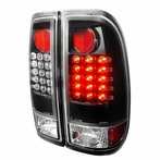 Black LED Tail Lights (Version 2)